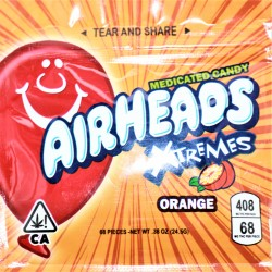 AirHeads Xtremes 408 mg of THC