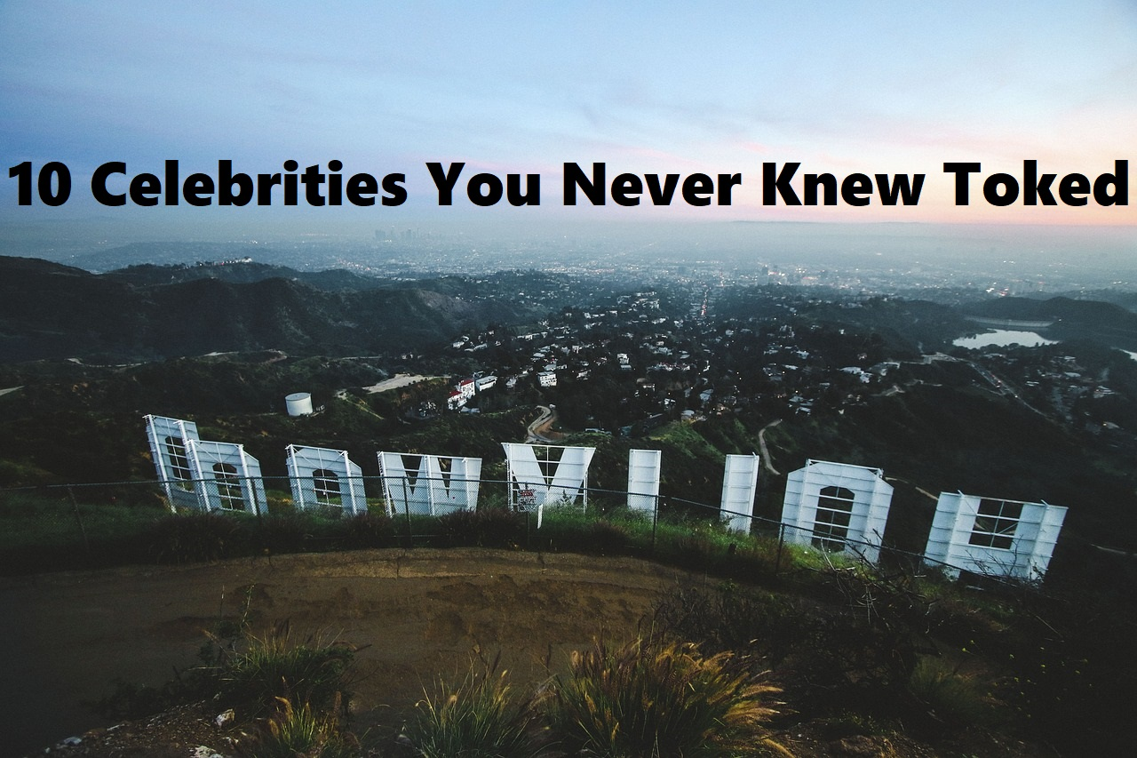 10 Celebrities You Never Knew Smoked Weed